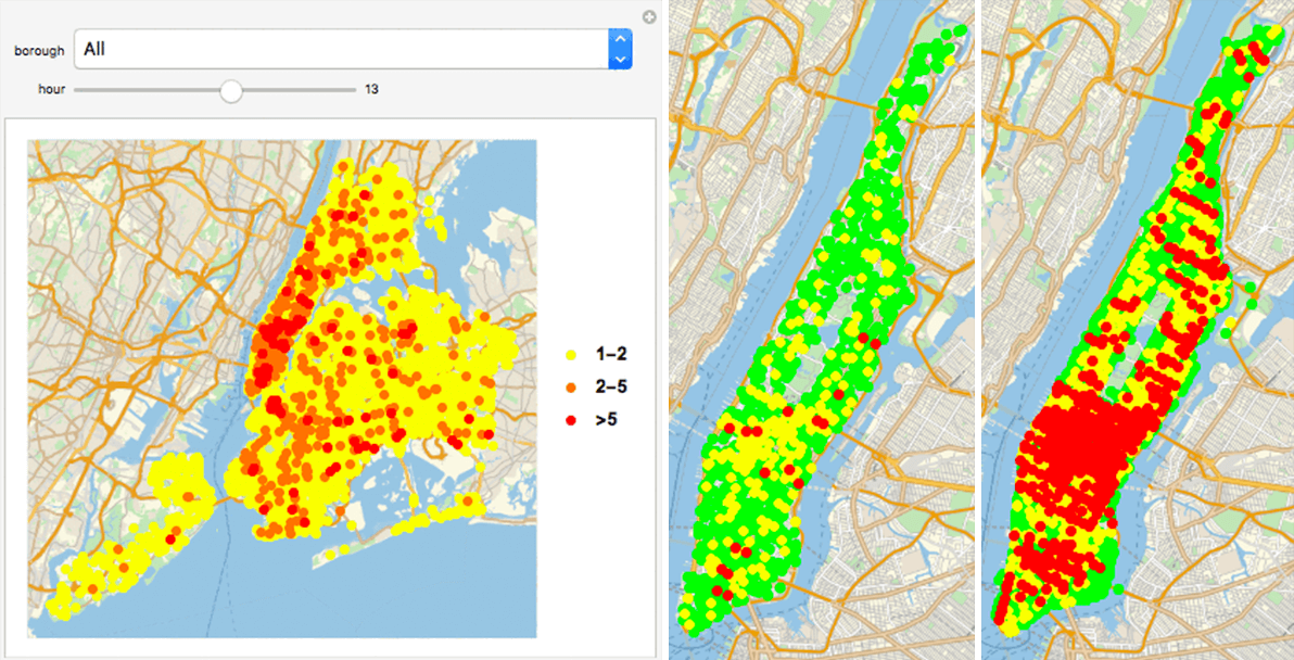 Image of New York City traffic accidents