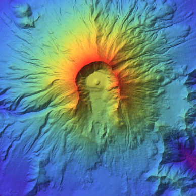 Using geo-elevation data